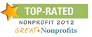 POPF, Great Nonprofits 2012 Award