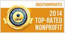 POPF, Great Nonprofits 2014 Award