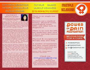 popf multiple scleroses brochure