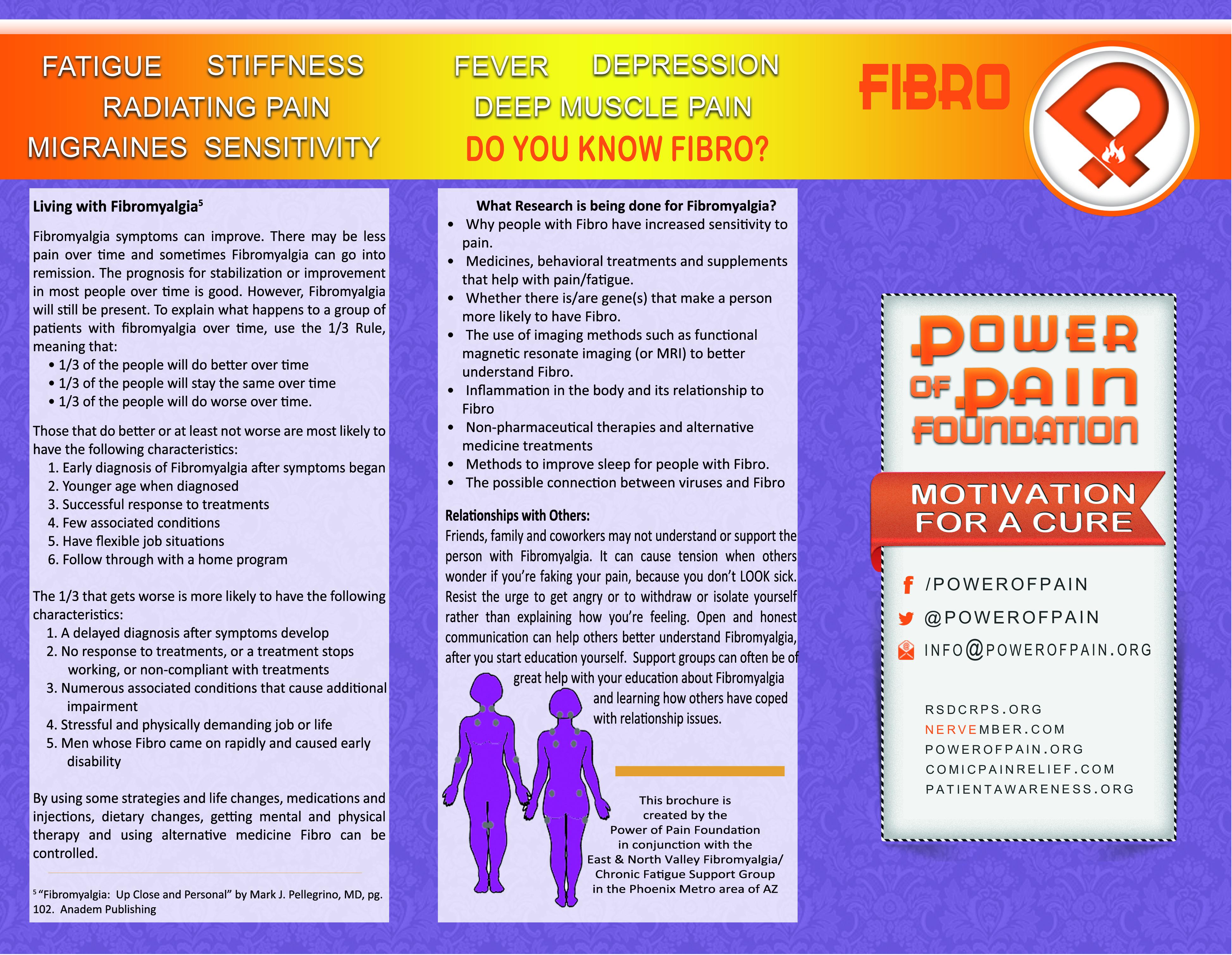 popf fibro brochure