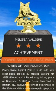power skate against pain Achievement