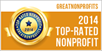 POPF GreatNonprofit 2014 award