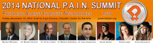 power of pain 2014 PAIN SUMMIT banner orange