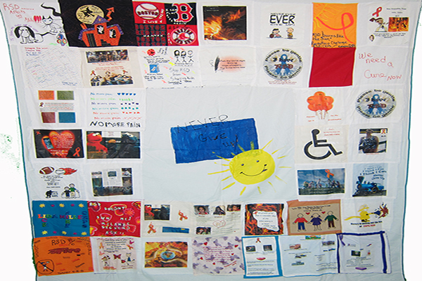 power of pain Quilt-3