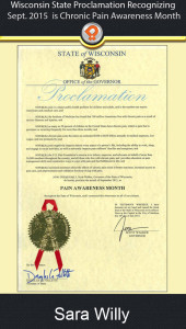 wi chronic pain proclamation 2015 ipain