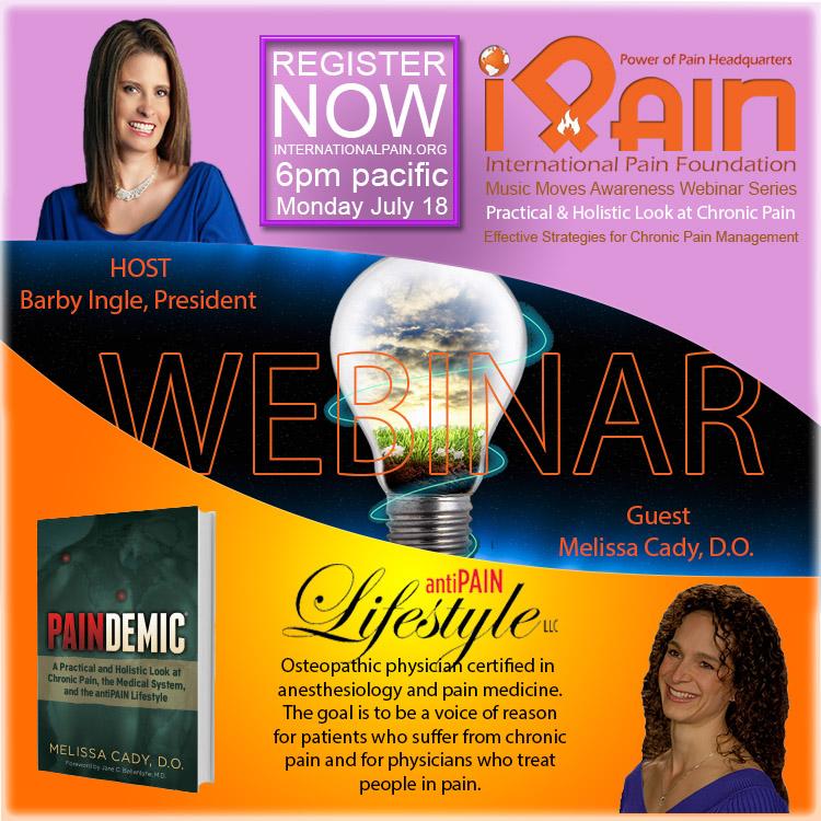 paindemic Dr Cady iPain webinar