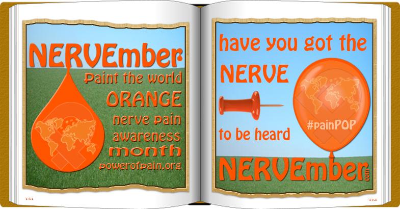 NERVEmber book #NERVEmber #painPOP