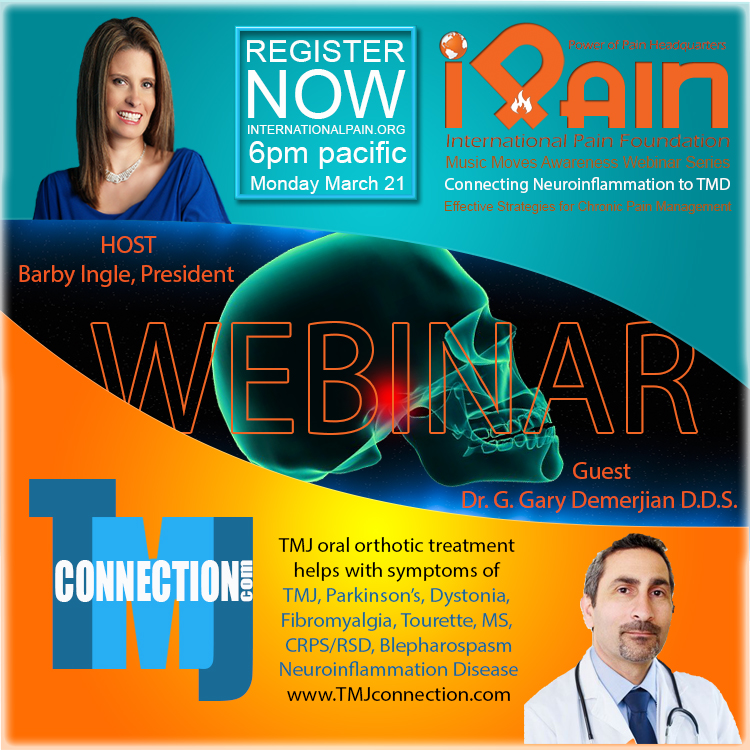 music moves awareness webinar TMJ Dr D