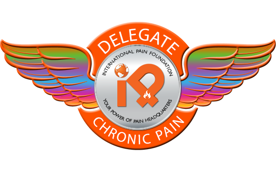 iPain Chronic Pain Delegate Badge