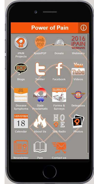 ipain mobile app power of pain foundation