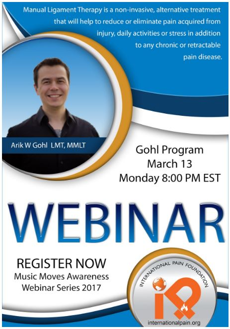 iPain Webinar Gohl Program Manual Ligament Therapy