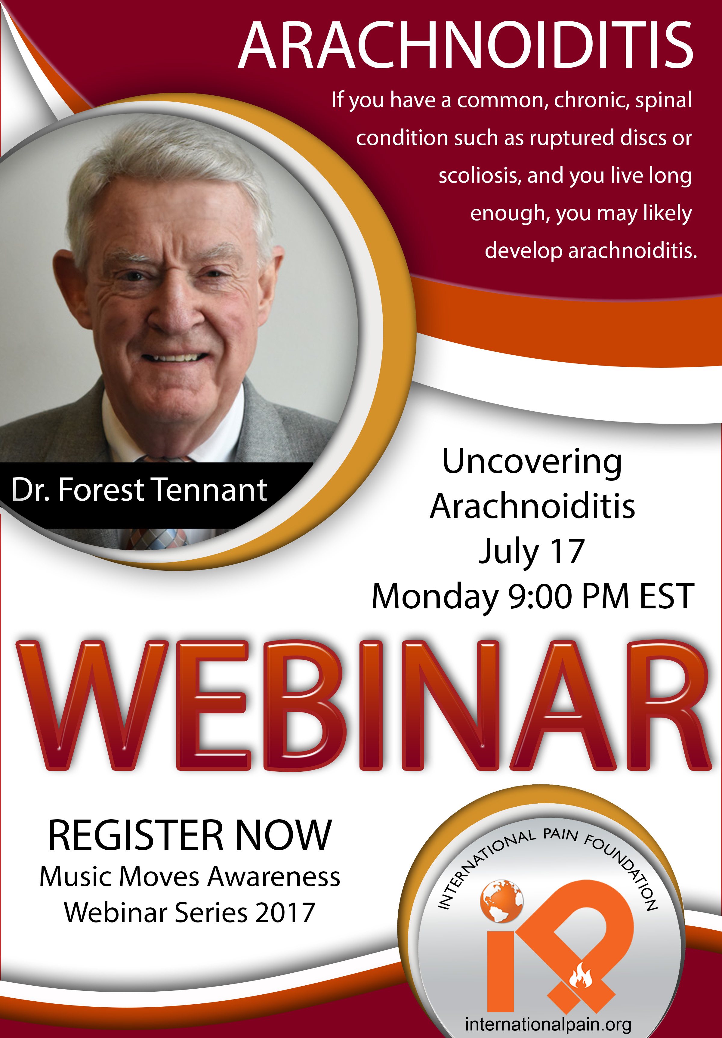 iPain webinar 2017, Dr Forest Tennant