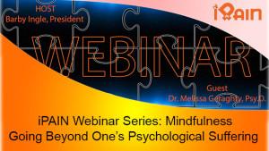 mindfulness iPain webinar youtube Melissa Geraghty sm