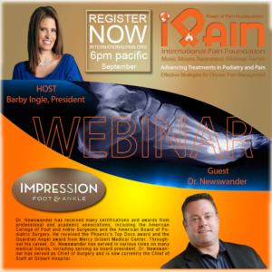 podietry and pain ipain webinar