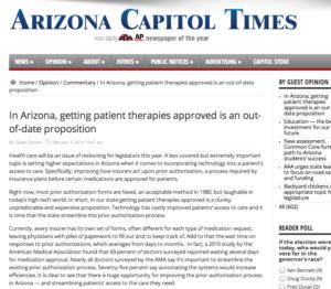 Insurance Insurgence Graphic AZ Capitol Times