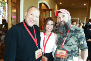 Ken and Barby and Donny from Big Brother at Reality Rally 2016