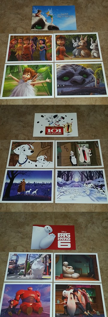 Disney Litho Set $100.00 value