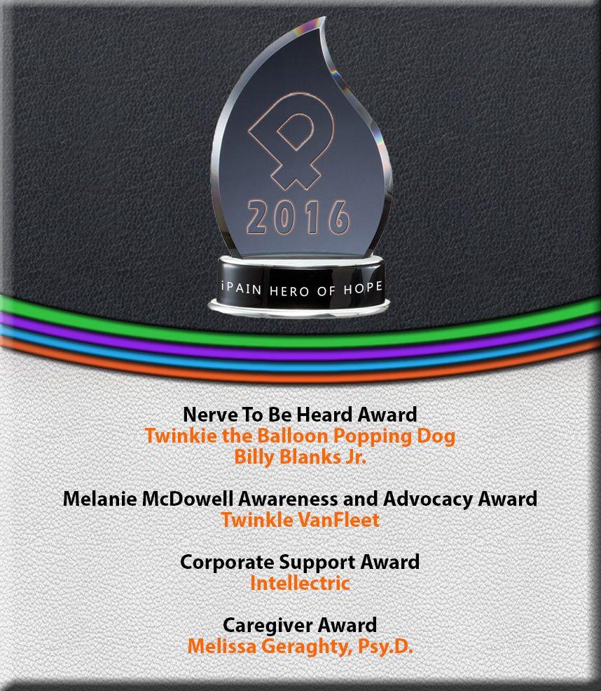 ipain hero of hope Award