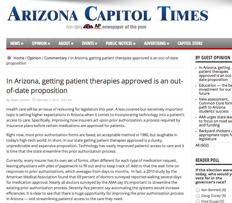 Insurance Insurgence Graphic AZ Capitol Times