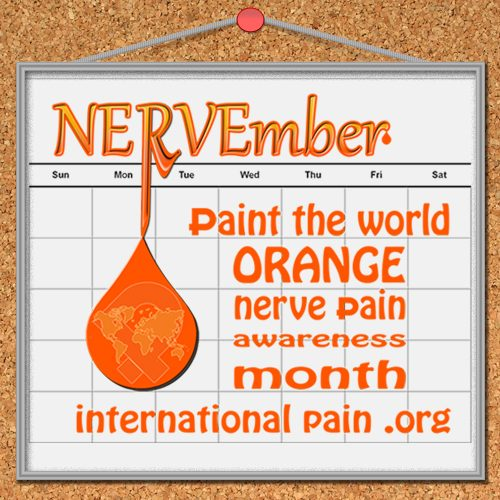 NERVEmber ipain awareness project