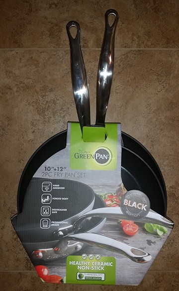 Non Stick Fry Pans $100.00 value