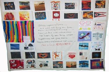 Power of pain Quilt-10