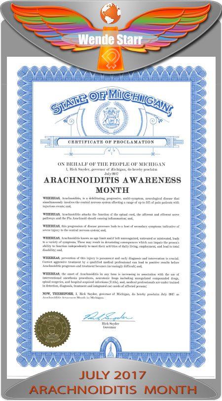 az arachnoiditis proclamation 2017 iPain