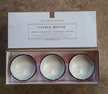candles $30.00 value