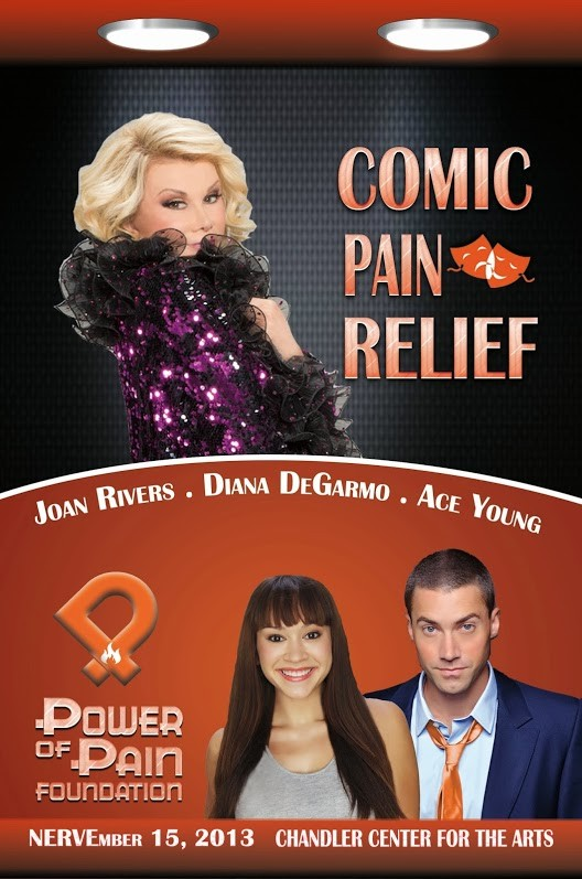 comic pain relief with joan rivers