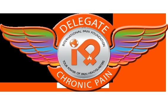 iPain Chronic Pain Delegate Badge