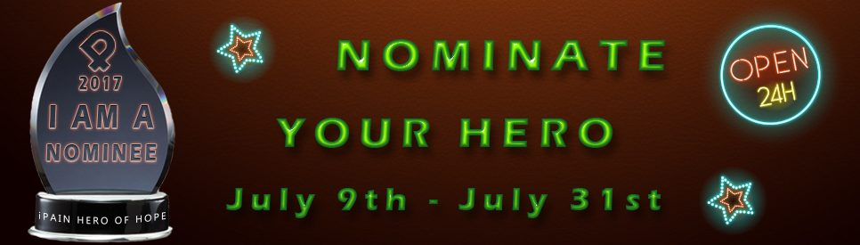 ipain hero of hope awards nominations open