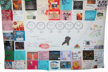 power of pain Quilt-2