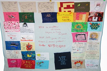 power of pain Quilt-8