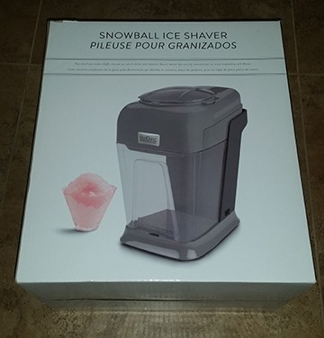 snowball ice shaver $80.00 value
